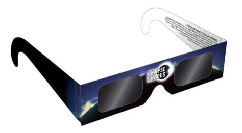 Rainbow Symphony CE Certified Safe Solar Eclipse Shades