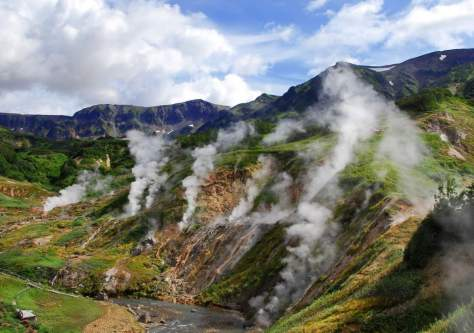 Valley of Geysers (Russia)