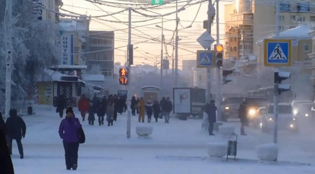 Yakutsk in winter