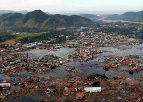 Most Powerful Earthquakes No. 3. A village after 2004 Indian Ocean Tsunami