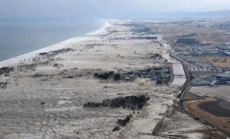 Most Powerful Earthquakes No. 4.  2011 Tōhoku Earthquake And Tsunami