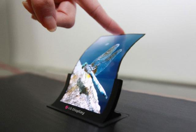 This year there will be foldable screen machines
