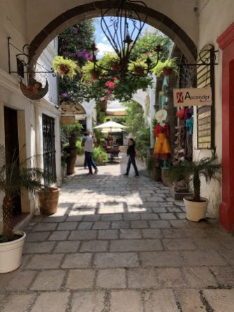 courtyards of San Miguel de Allende