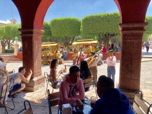 The lovely Jardin in San Miguel de Allende