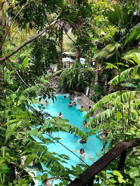 La Gruta hot springs