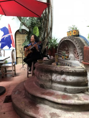 Oso Azul restaurant is great for breakfasts and music