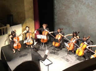 Amit Peled conducts at the Chamber Music Festival in San Miguel de Allende