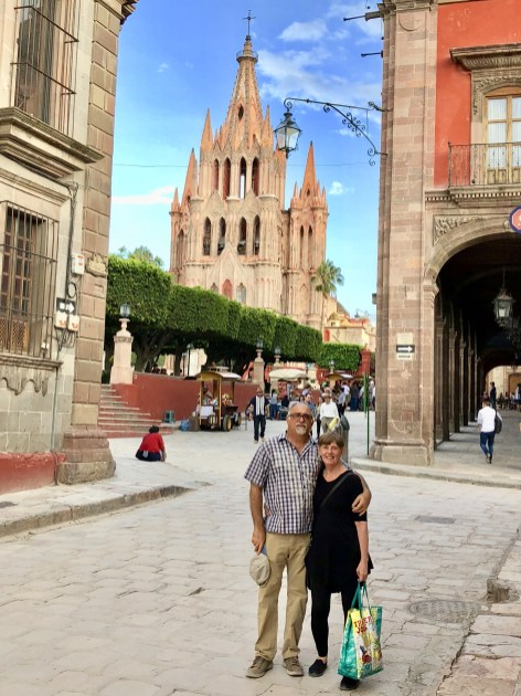 In the Jardin in San Miguel de Allende