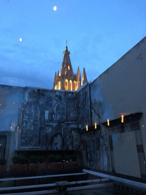 Parroquia from the La Azotea rooftop.