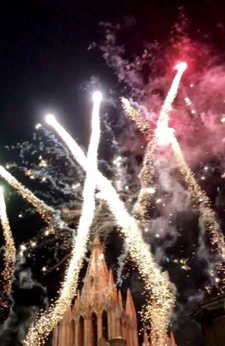 The most amazing fireworks!