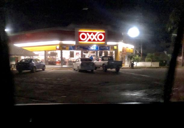 OXXO a few blocks away.