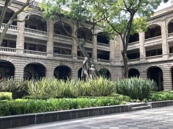 Secretary of Education courtyard