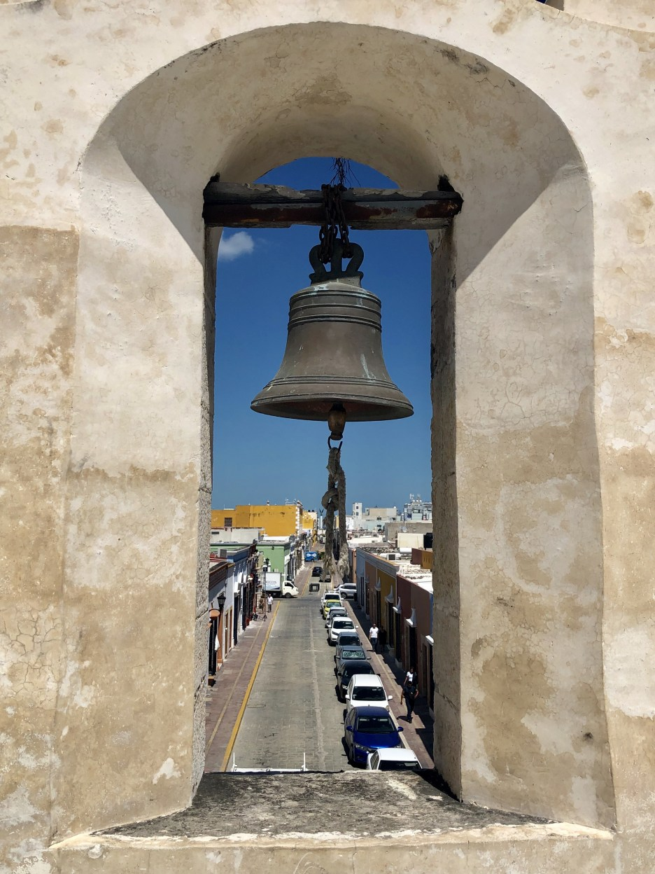 Campeche is a walled city