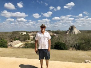 A sweeping view of Uxmal