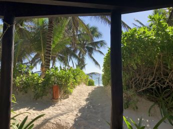 View from a Cabana