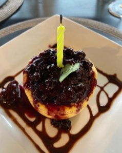 A yummy dessert
