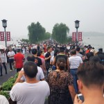 West Lake Hangzhou China Crowds