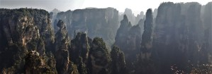 Zhangjiajie National Forest Park China Yuanjiajie Avatar Mountains