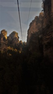Zhangjiajie National Forest Park China Yangjiajie Cable Car