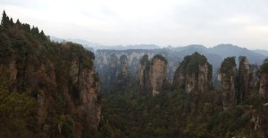 Zhangjiajie National Forest Park China Huangshi Village