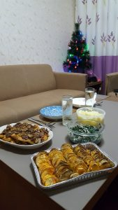 Christmas Dinner China Homemade