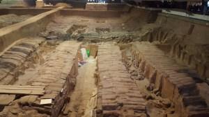 Terra Cotta Warriors Xian China Pit 2