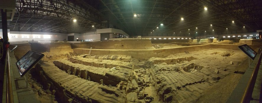 Terra Cotta Warriors Xian China Pit 2
