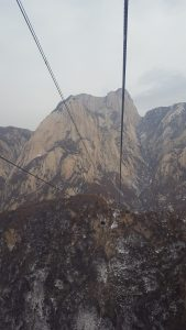 Mount Hua Cable Car Xian China