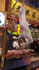 Xian China Muslim Quarter Kebabs Our Quarter Life Adventure