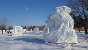 Harbin Sun Island International Snow Sculpture Art Expo China Our Quarter Life Adventure Travel Blog