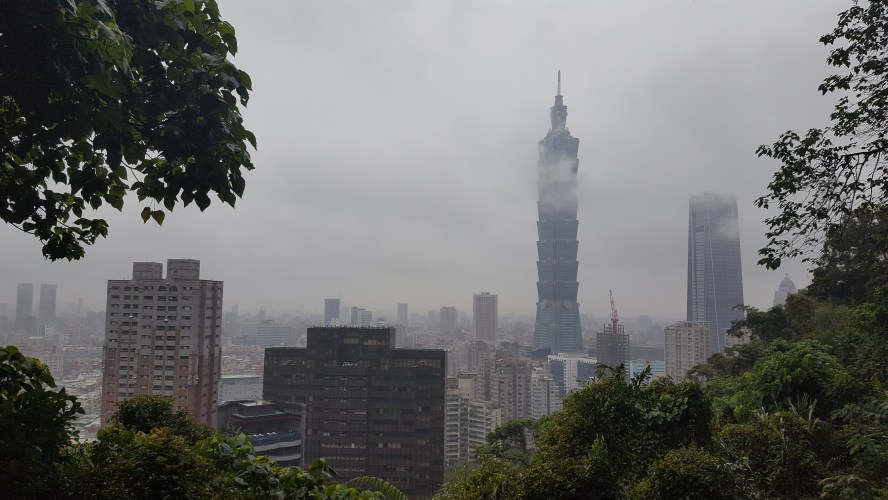 Elephant Mountain Taipei Taiwan Nangang Hiking Trail