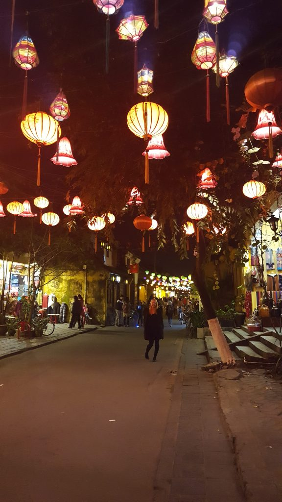 Hoi An Central Vietnam Lanterns at Night