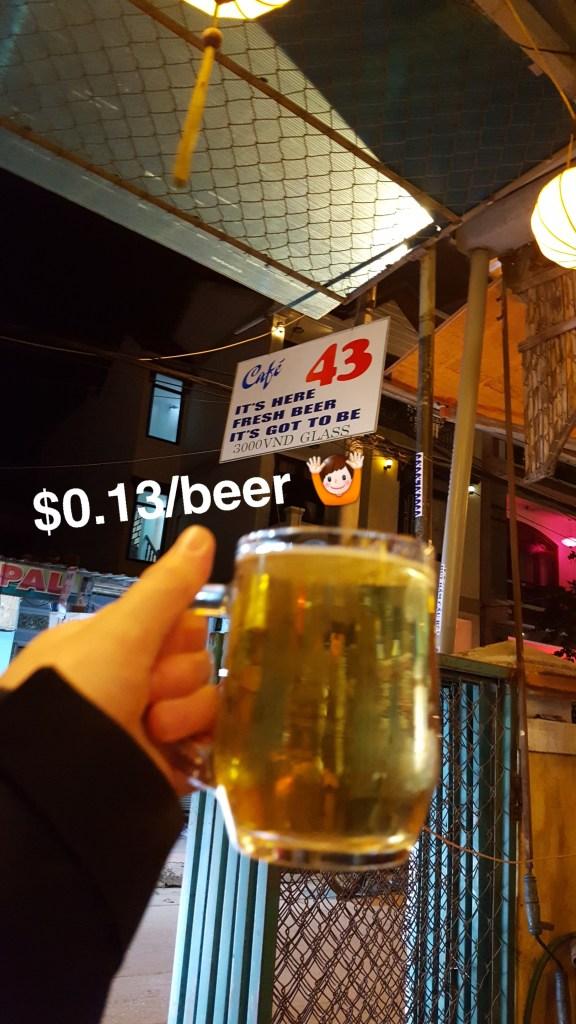 Hoi An Central Vietnam Beer