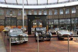 Dusseldorf Germany Classic Remise Vintage Collector Car Museum Dealership
