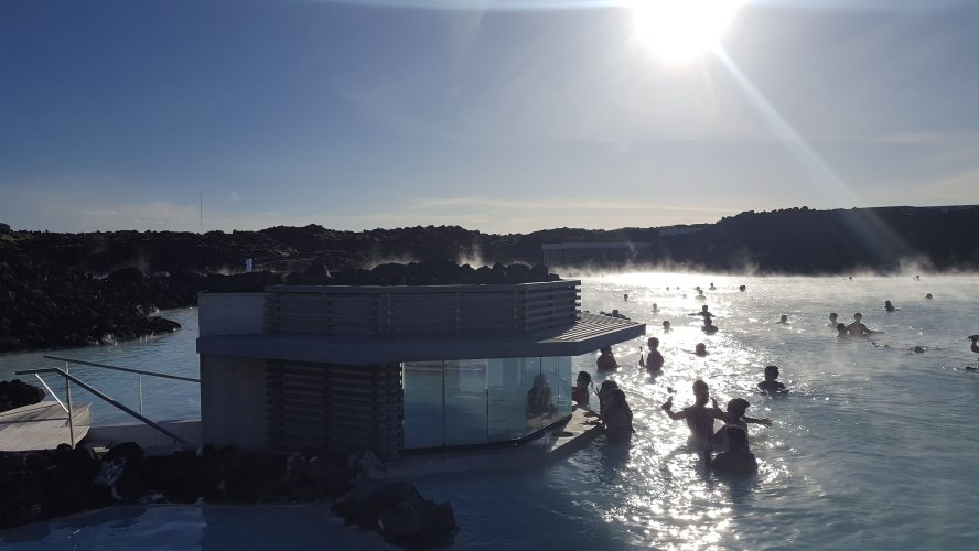 Blue Lagoon Mud Mask Hot Springs Spa Keflavik Reykjavik Iceland Our Quarter Life Adventure Travel Blog