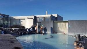 Blue Lagoon Sauna Steam Room Hot Springs Spa Keflavik Reykjavik Iceland Our Quarter Life Adventure Travel Blog