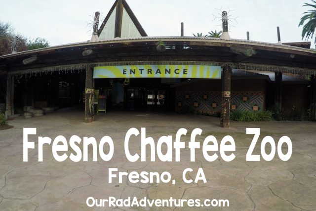Fresno Chaffee Zoo Entrance