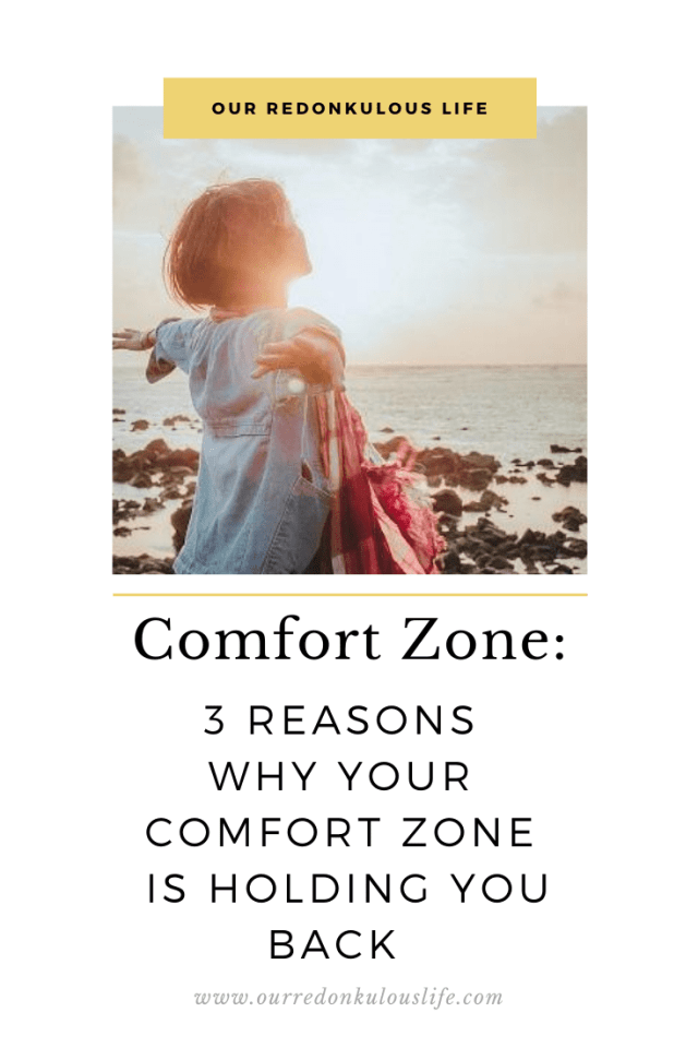 Comfort Zone is holding you back