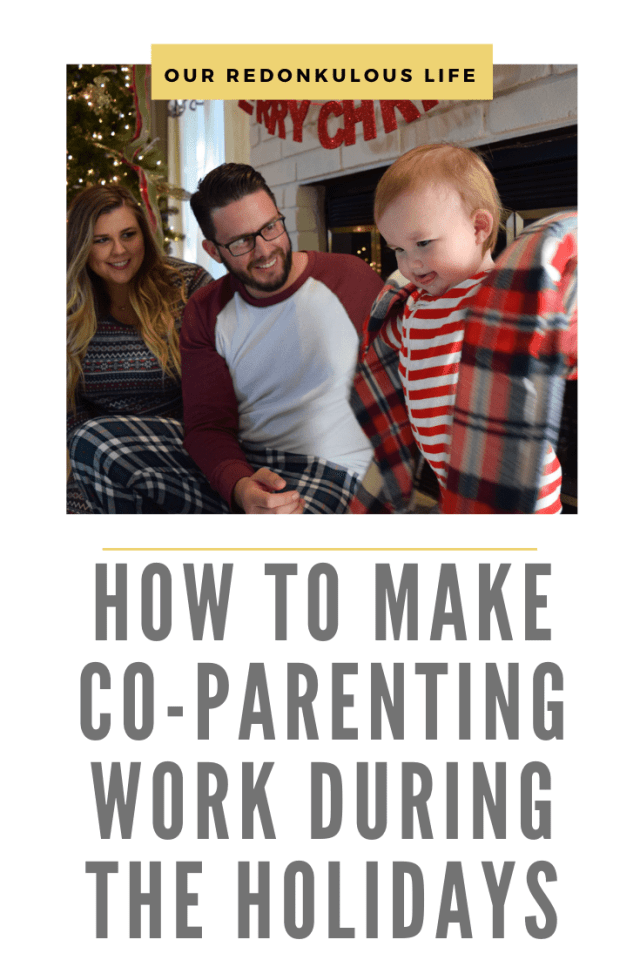 Co-parenting during the holidays
