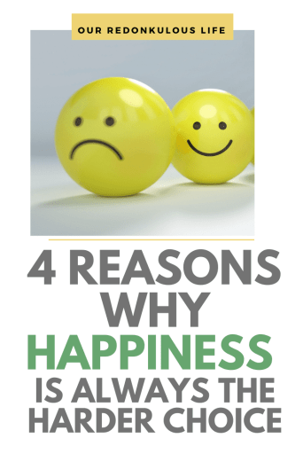 happiness the harder choice