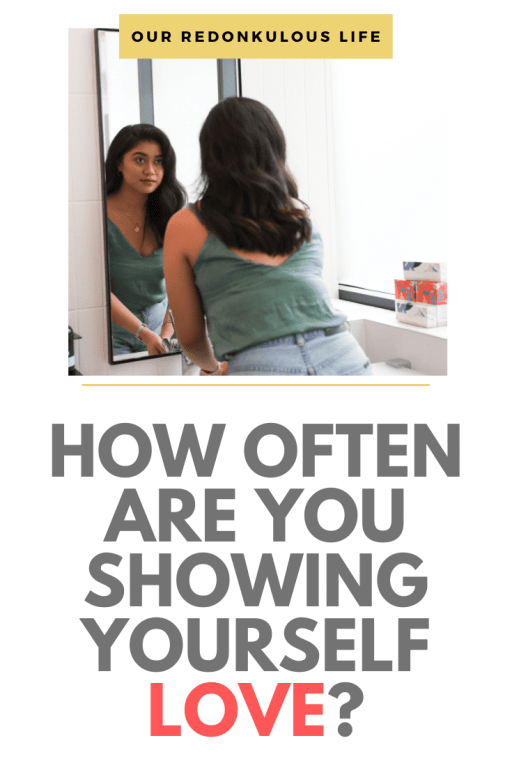 showing yourself love