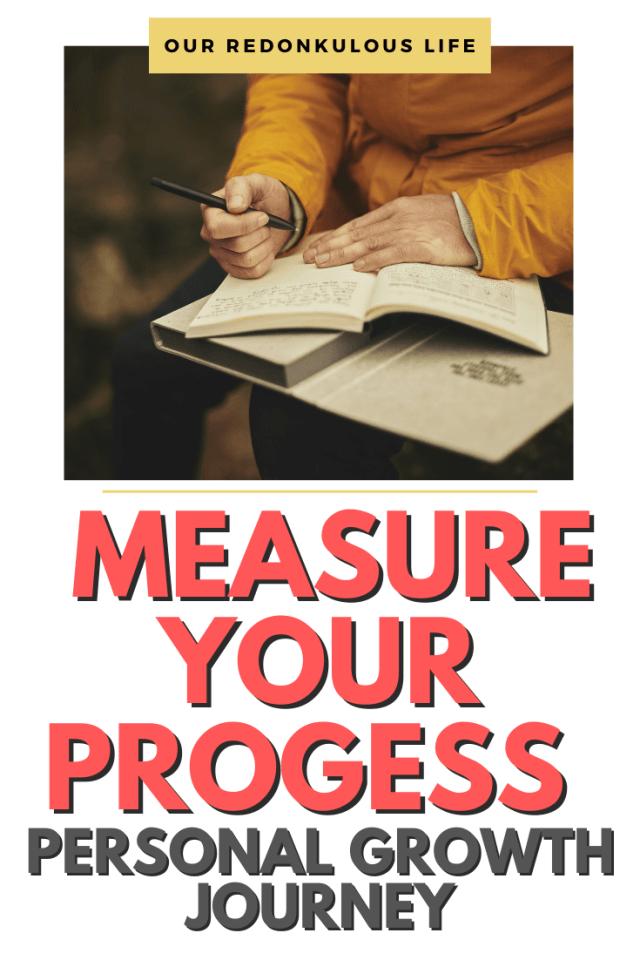 Measure progress personal growth