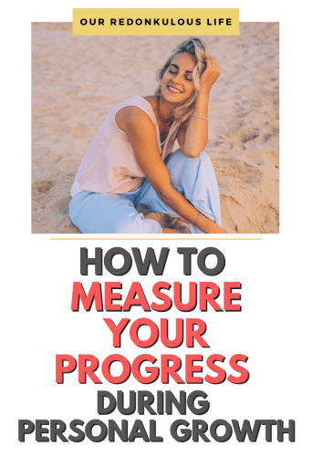 Measure your progress during personal growth