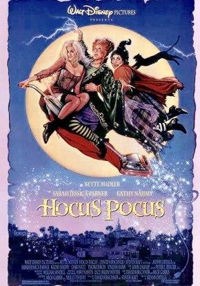 Favorite Halloween Movies Hocus Pocus movie poster