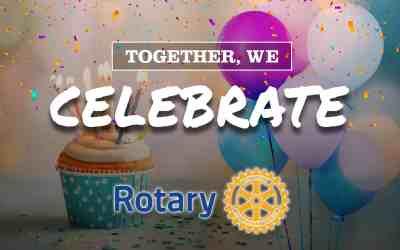 February | Happy Birthday Rotary!