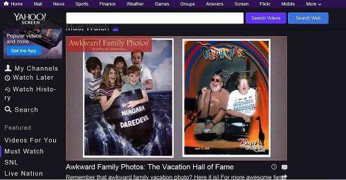 Yahoo Roller Coaster