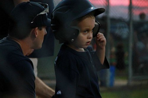 Landon T-Ball - Who's on First