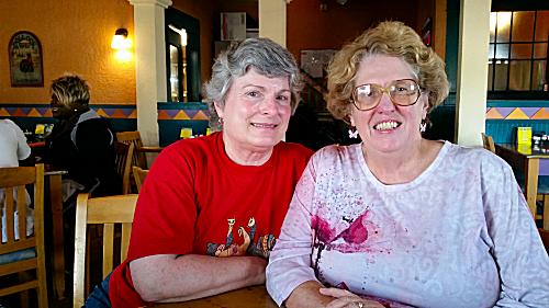 Linda Furlong and Jan
