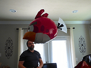 Angry Birds Air Swimmers 3