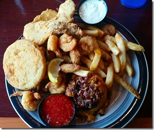 Desoto's Seafood Platter 2